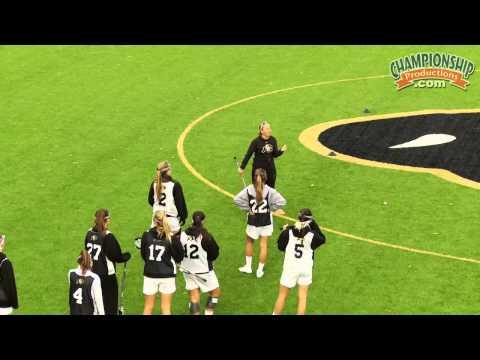 Progressive Team Drills for Women's Lacrosse
