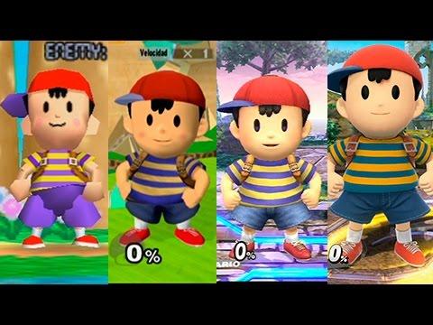 Super Smash Bros Wii U Ness Evolution YouTube