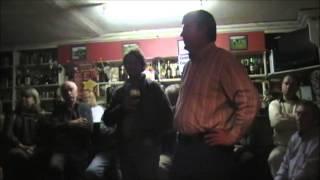 Mick Coye performing a Brian O