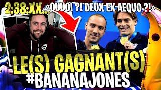 WTF Incroyable ! Au millième près ?! 2 gagnants sur le Deathrun #BananaJones sur Fortnite Créatif