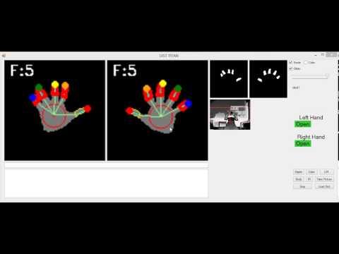 Robust finger tracking and finger click detection using Kinect V2
