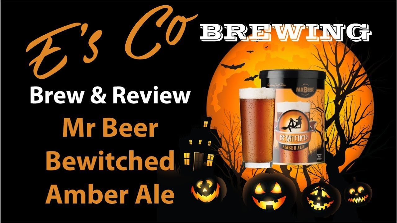 Mr Beer Bewitched Amber Ale Brew And Review Youtube