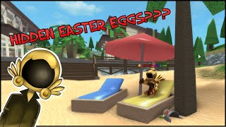 Finding Roblox Easter Eggs at Trade Central???