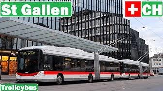 Switzerland , St Gallen trolleybuses 2019