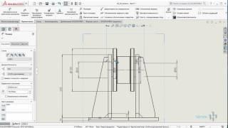 Как построить чертеж из 3D модели в SolidWorks?
