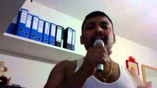 Tamil karaoke by Ravi-Ragangkal 16 uruvaanavaralaaru