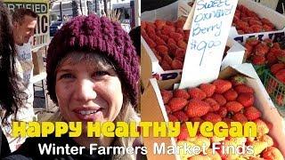 Winter Farmers Market Finds