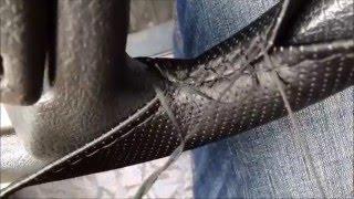 видео кожаный чехол на руль