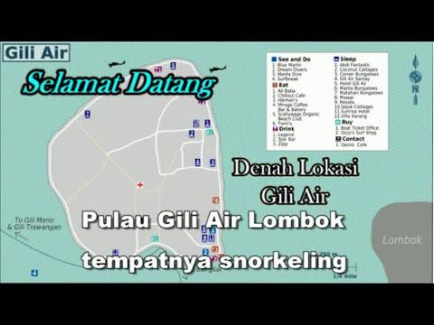 Wisata Indonesia : Pulau Gili Air Lombok Indonesia, Mopon ID