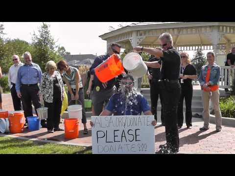 ALS Ice Bucket Challenge - Parker Mayor Mike Waid