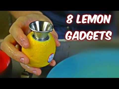 8 Lemon Gadgets put to the Test