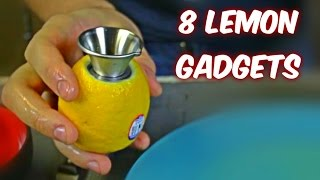 Repeat youtube video 8 Lemon Gadgets put to the Test