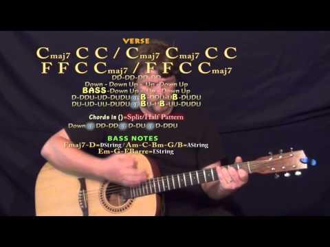 For Emma (Bon Ivers) Guitar Lesson Chord Chart