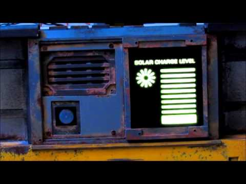 Wall E Light Panel Demo Youtube
