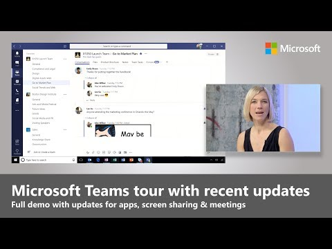 Microsoft Teams full tutorial with recent updates (2018) from YouTube · Duration:  13 minutes 58 seconds