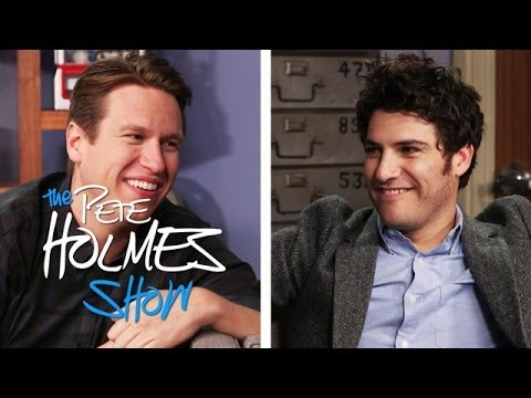 Adam Pally Gives Pete So Much Shit For Telling a Bad Joke