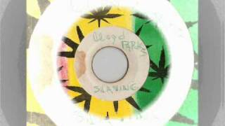 lloyd parks - slaving + version extended with i roy - black man time  - gussie records (slaving riddim)