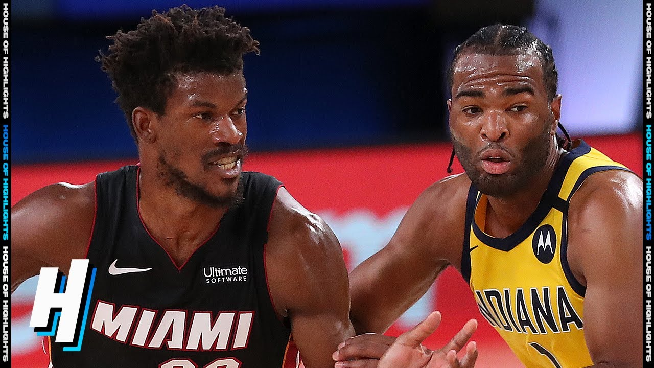 Miami Heat vs Indiana Pacers - Full Game 1 Highlights | August 18, 2020 NBA Playoffs