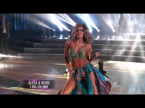 Alexa PenaVega & Mark Ballas  Cha Cha  Dancing With The Stars