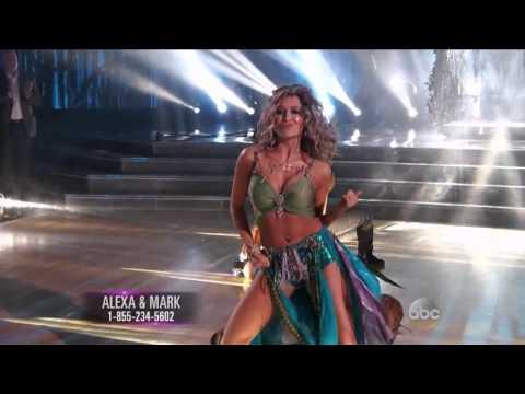 Alexa PenaVega & Mark Ballas - Cha Cha - Dancing With The Stars