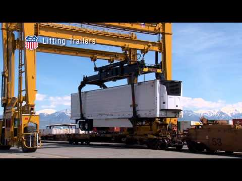 Union Pacific Intermodal Ramp Operations Tour