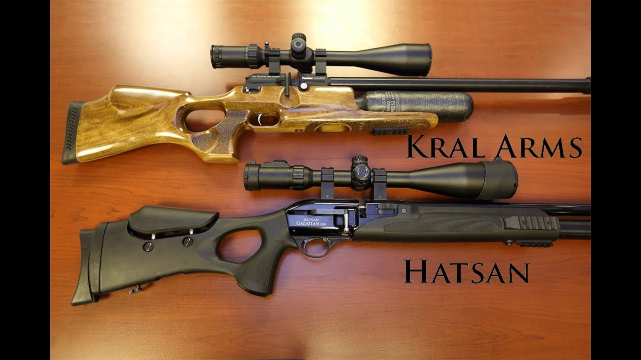Turkish Delight - Kral Arms & Hatsan - Excellent mid-level PCP airguns