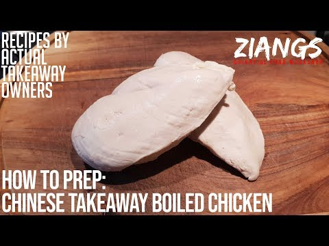 Ziangs: How to make and prep boiled chicken like a Chinese takeaway