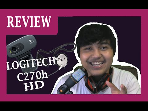 Logitech C270h HD Webcam | Review + Unboxing Indonesia #1