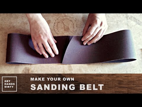 Make Your Own Sanding Belt
