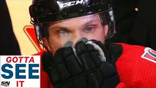 GOTTA SEE IT: Bobby Ryan Emotional After Hat Trick In Return To Ottawa