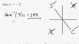 Solving simple trig equation (in radians) - EASY!!!! (pt.8)