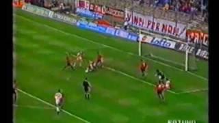 Foggia-Bari 4-1, serie A 1991-92