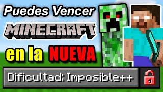 ¿Puedes Vencer Minecraft en la Nueva Dificultad Imposible?