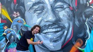 Un mural de mí es atracción turística 😱 | El Salvador #4