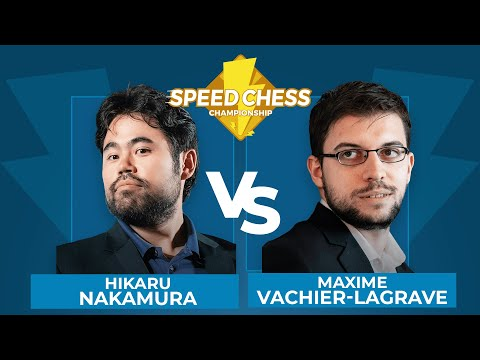 Hikaru Nakamura vs Maxime Vachier-Lagrave | Speed Chess Championship Final