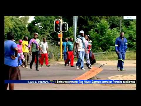 Service delivery protests loom west of Pretoria