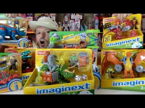 The Most Epic MOC Imaginext Dinosaur Collection! Fisher Price Makes Awesome Toys! Jurassic World