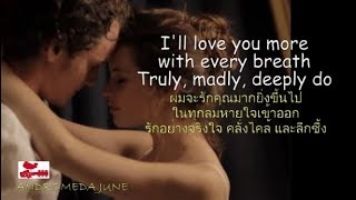 Baixar เพลงสากลแปลไทย Truly Madly Deeply - Savage Garden ♪♫♫ ♥ (Lyrics & Thai subtitle)