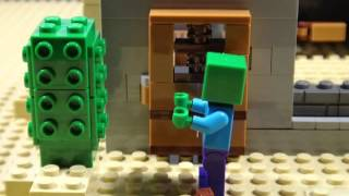 LEGO MINECRAFT THE ADVENTURES OF STEVE - PART 3 THE DESERT OUT…