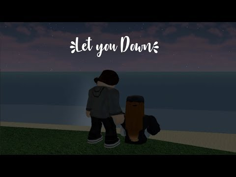 NF || Let You Down || Roblox Music Video