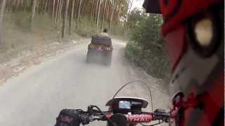Вокруг Тургояка за 28 минут - Honda XR250R - Миасс