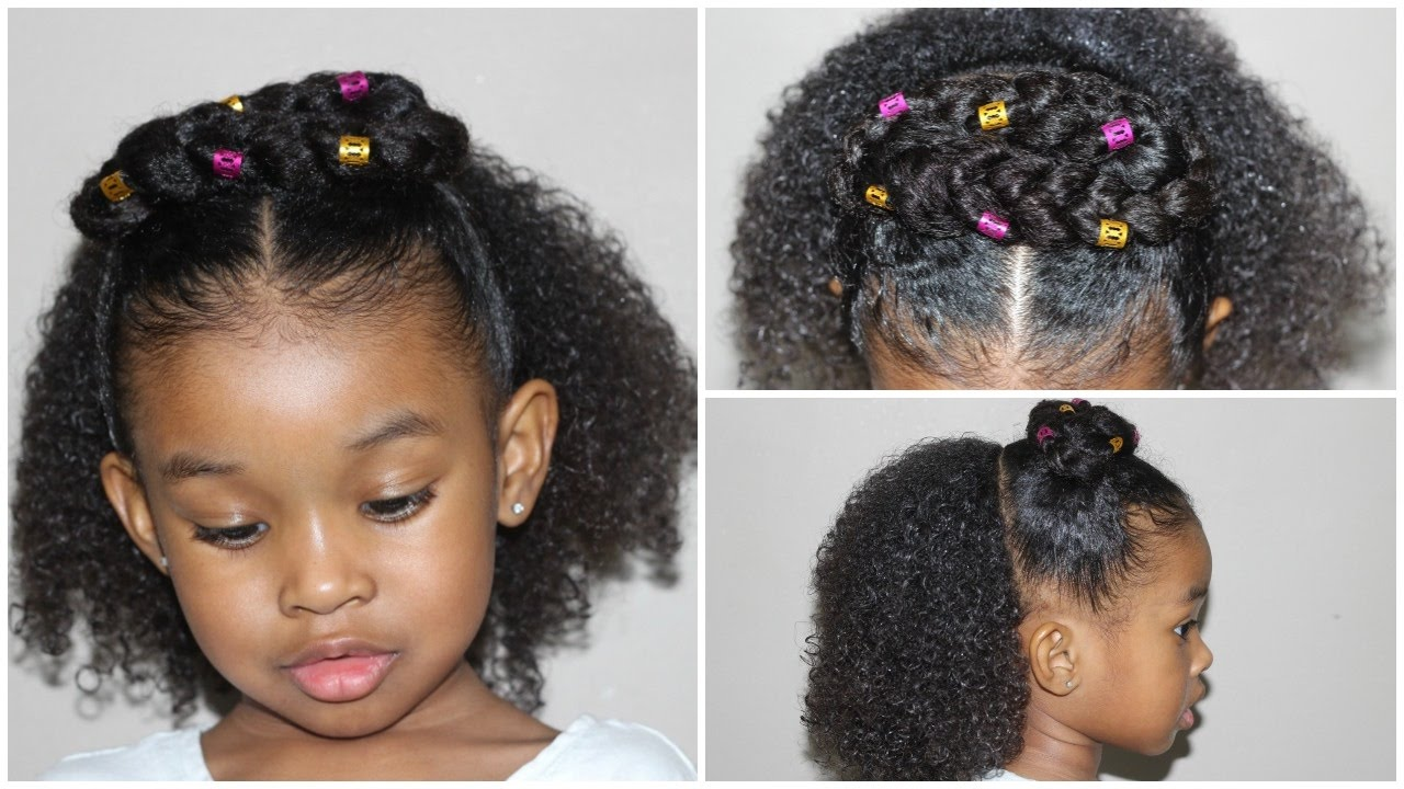 Hair Cute Style: Half Up And Down Hairstyle