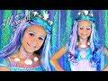 Mermaid Halloween Makeup and Costume For Kids!