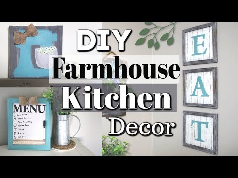 DIY Dollar Tree Home Decor 2019 | Dollar Tree Farmhouse Decor DIY | Krafts by Katelyn