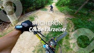 BUCHERON, Col de l'Arzelier bike park, France