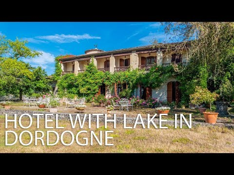 Hotel Restaurant & Lake With 11 Bedrooms For Sale Dordogne - Aquitaine Ref : 82909DG24
