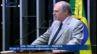 Tasso Jereissati fala do privilégio de ter convivido com Roberto Marinho