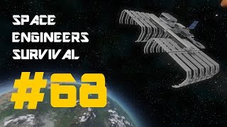 A Successful Flight- Space Engineers Survival (Part 68)