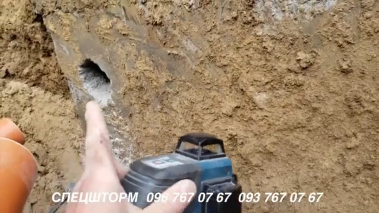 Дренажная канализация своими руками