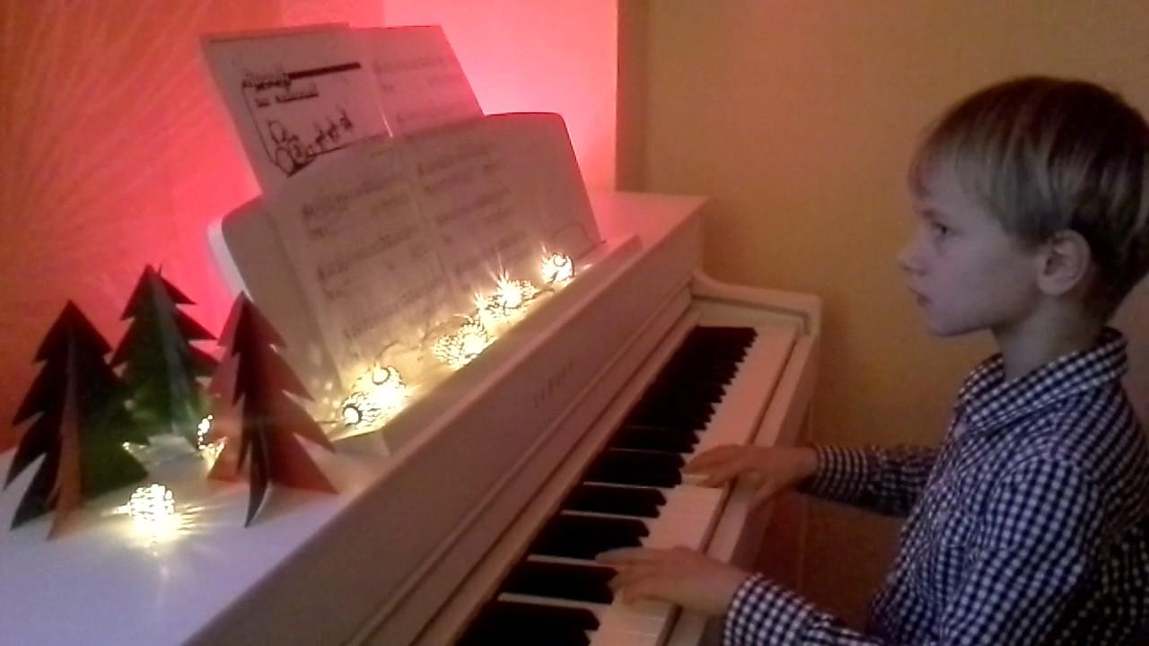 rudolf das kleine rentier piano klavier youtube
